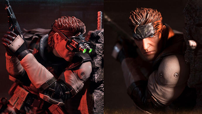 Solid_Snake_Statue_First4Figures_Close_up_b