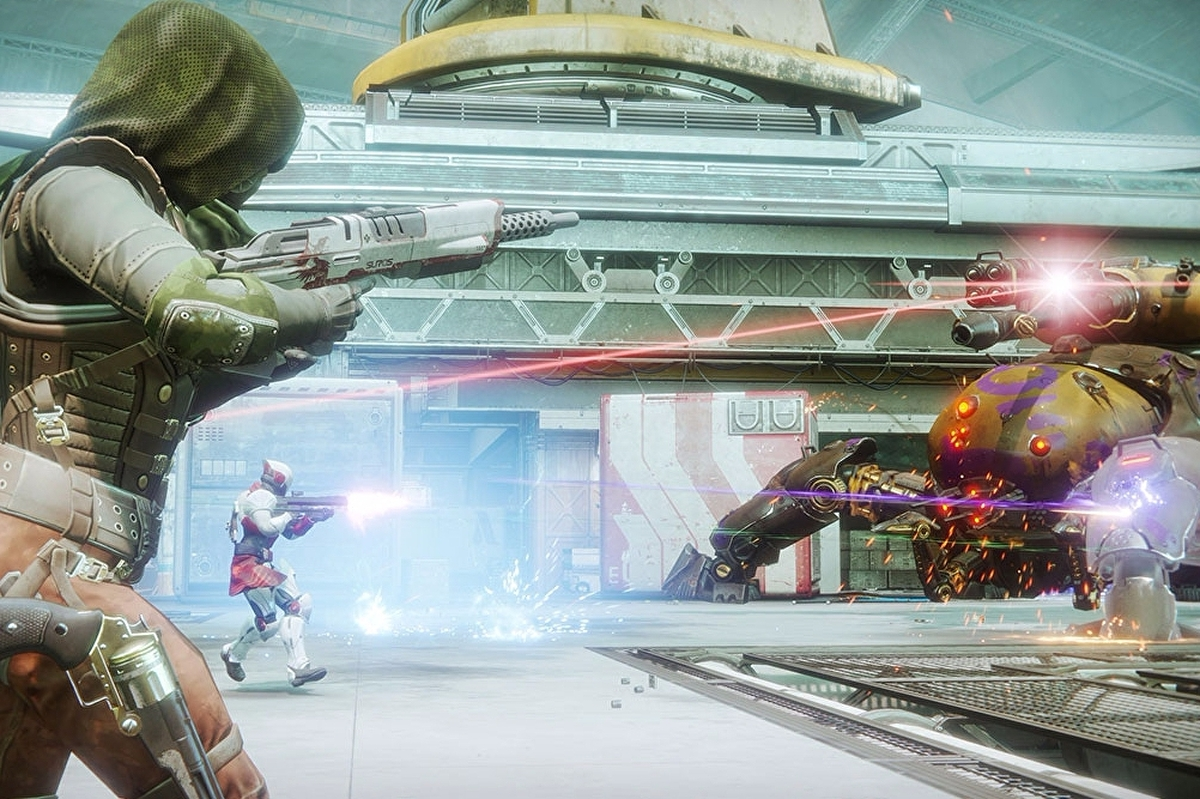 Destiny 2 Heroic Public Events - triggers for Injection Rig, Taken