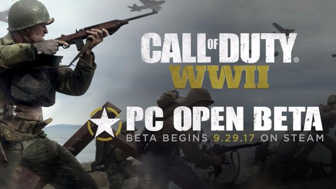 Call of Duty: WW2 is getting an open beta on PC thismonth