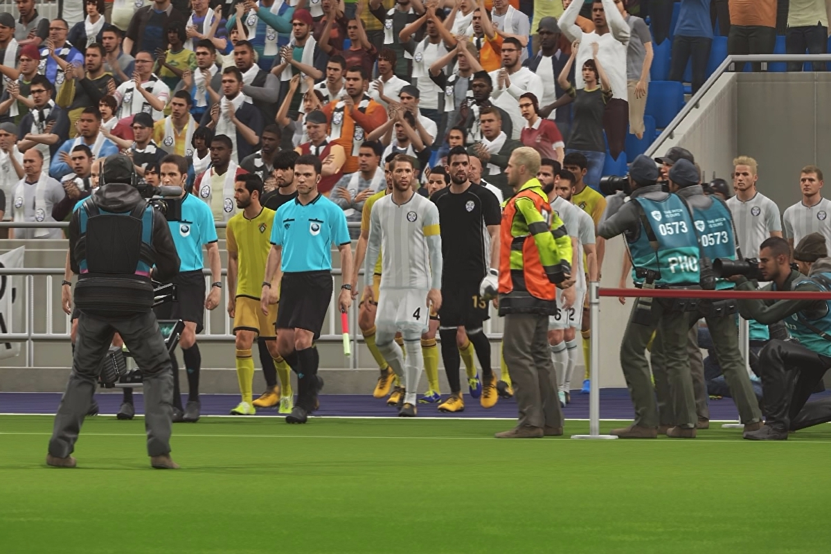 PES 2018 real team names lists - Real Madrid, Bayern Munich, Man Utd