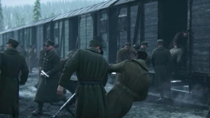 Call of Duty: WW2's new story trailer reiterates that war ishell