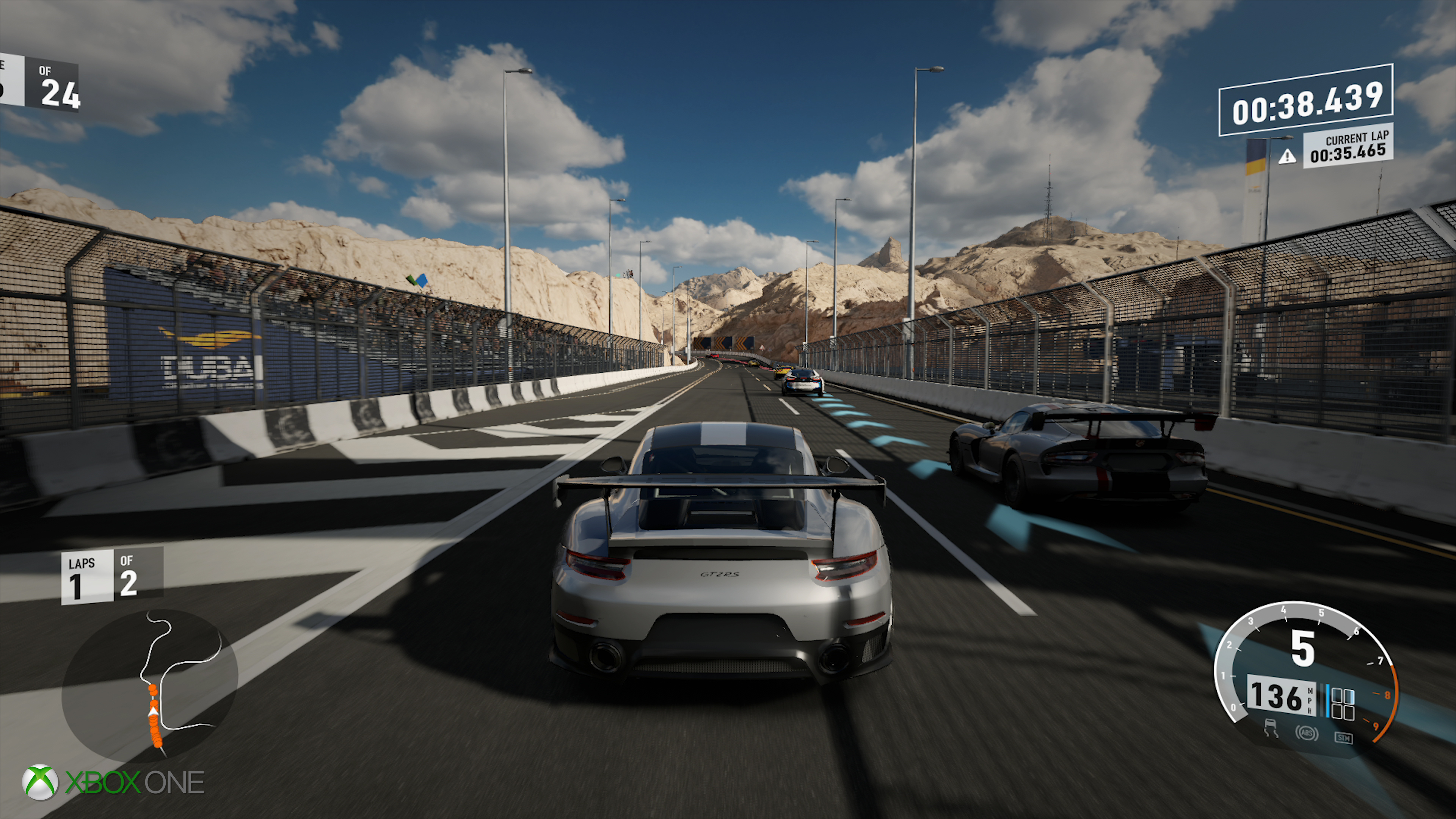 how does forza 7 improve on xbox one x over base hardware. Black Bedroom Furniture Sets. Home Design Ideas