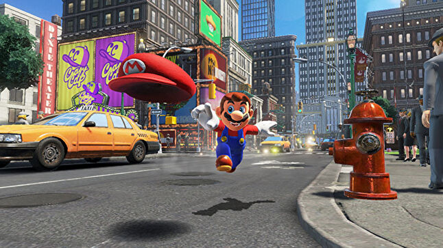 Super Mario Odyssey: one of many family console games this Q4