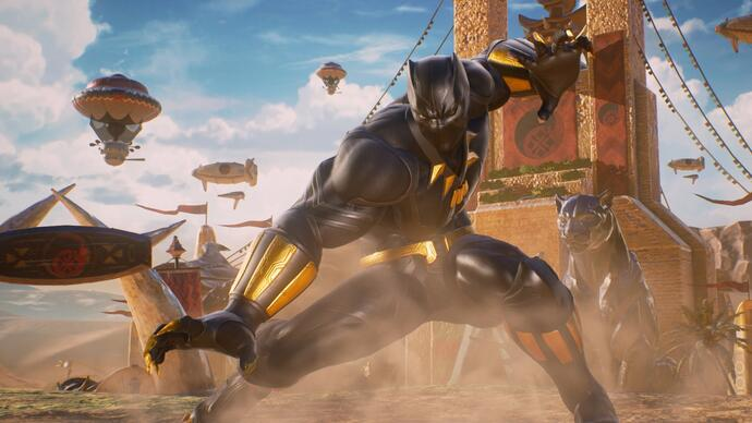 Bekijk: Marvel vs. Capcom: Infinite - Black Panther and Sigma Gameplay Trailer