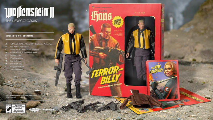 Jelly Deals: Wolfenstein 2's Collector's Edition reduced a week beforelaunch