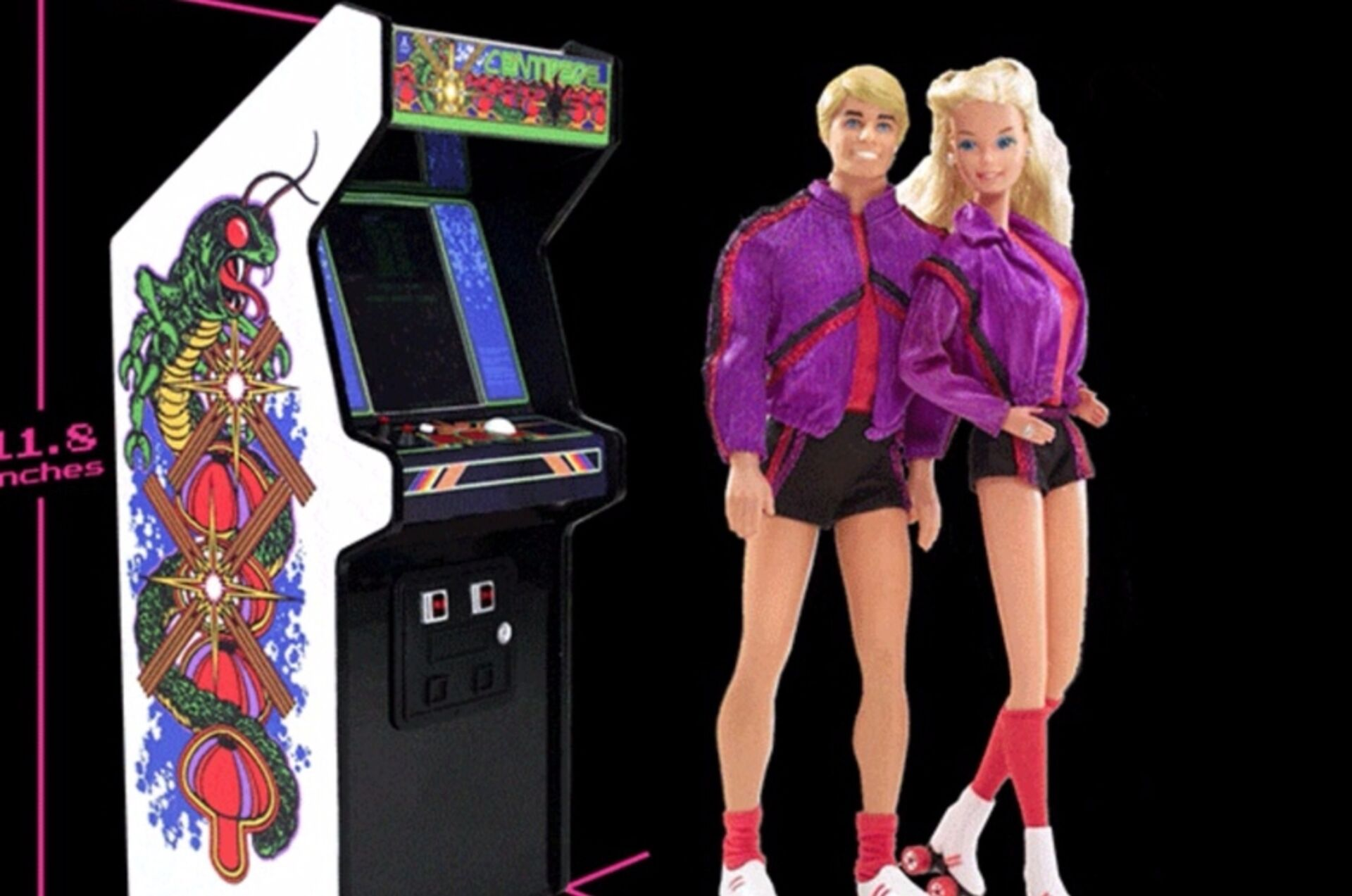 There's a range of miniature, officially licensed arcade