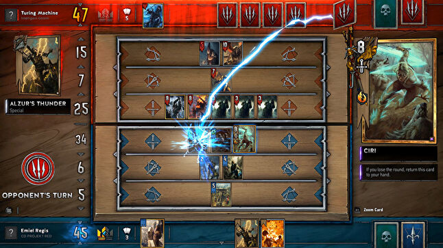 The 'simple but not simplistic' design of Gwent has attracted a large community, who have been calling for an official esports tournament
