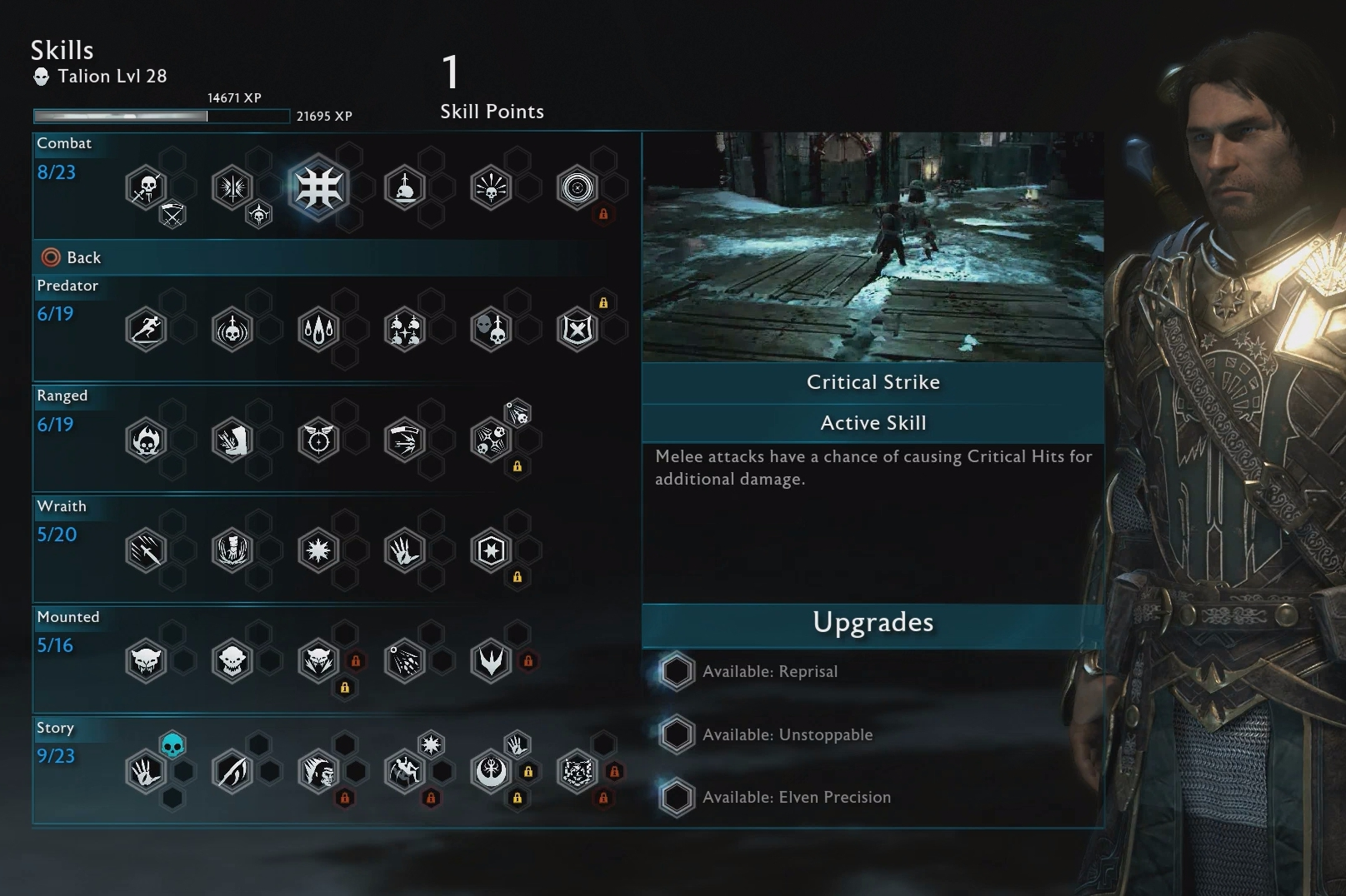 Shadow Of War Skills Explained The Best Skills How To Get Skill