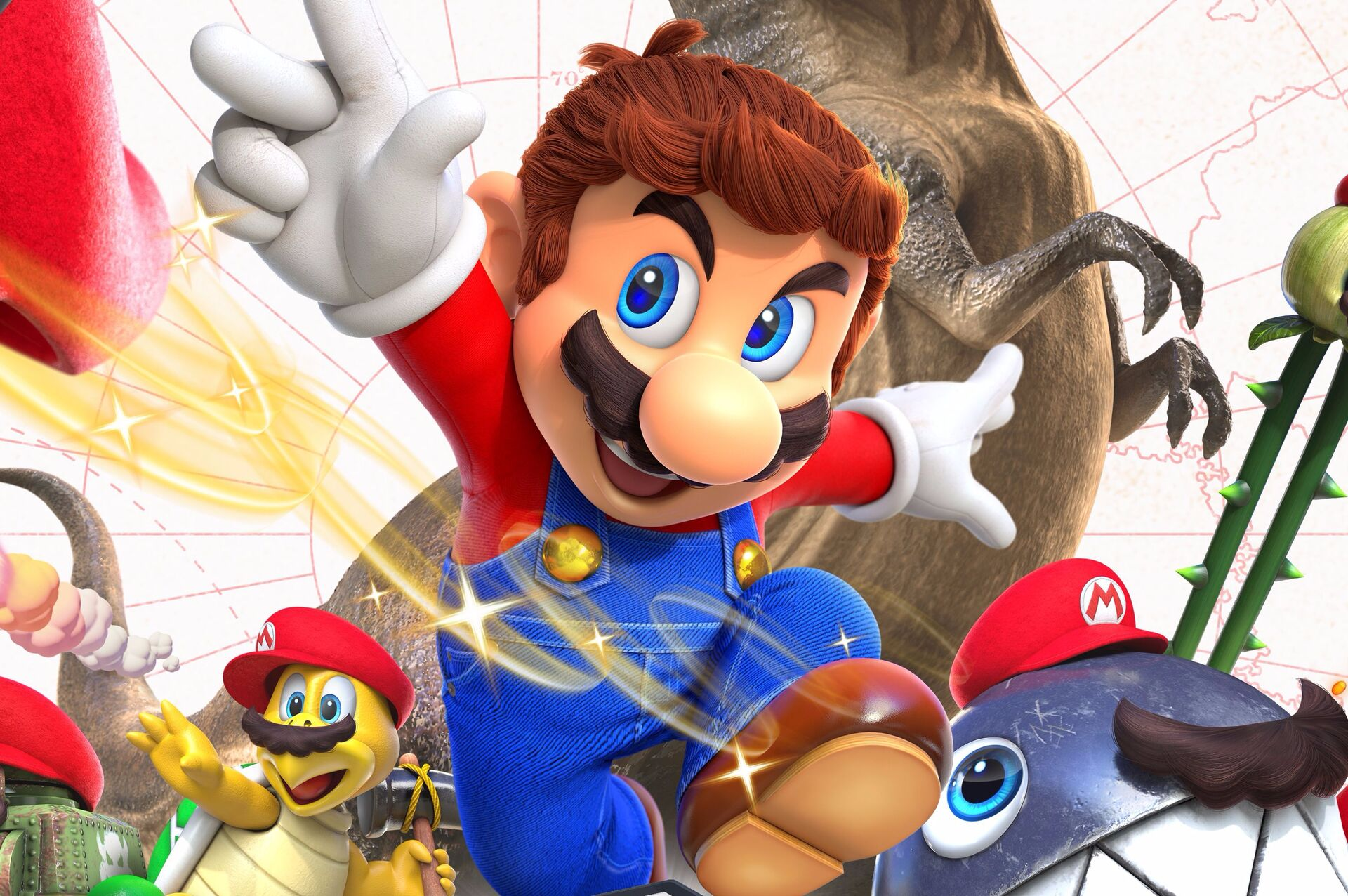 How Super Mario Odyssey Pushes Switch To Its Limits