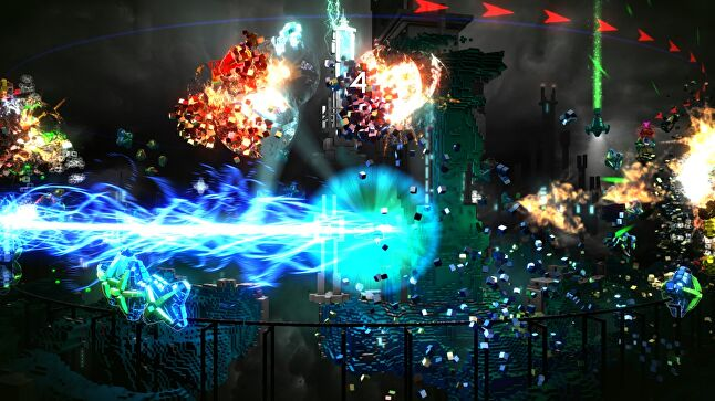 Giving away Resogun through PS Plus helped Housemarque to reach a wider audience, but it didn't convince people to pay for its future games