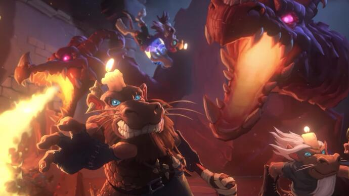 Hearthstone's next expansion is a love letter to classic dungeoncrawlers