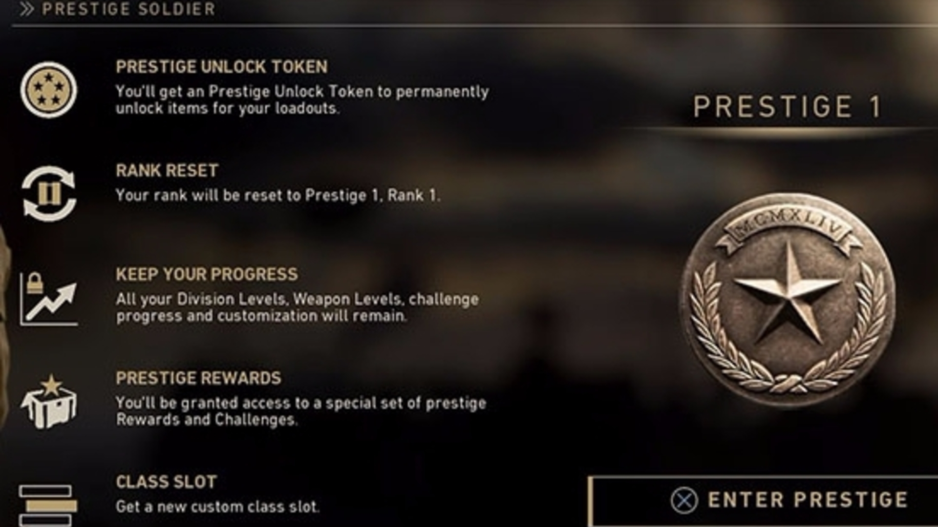 Call Of Duty Ww2 Prestige Rewards Explained What You Unlock For