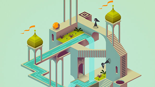 Luna's puzzles are similar to Monument Valley in terms of their difficulty