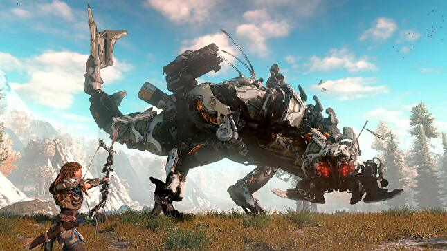Creating the Thunderjaw was a critical point - the team knew it had to nail the beast's design, or the whole game's concept could fall apart