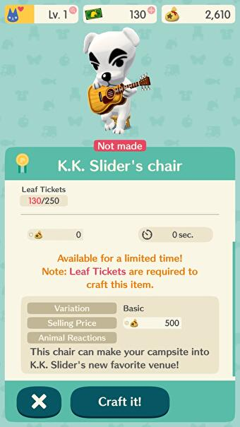 You can pay 20 to invite kk slider and tom nook to your animal 4 stopboris Images