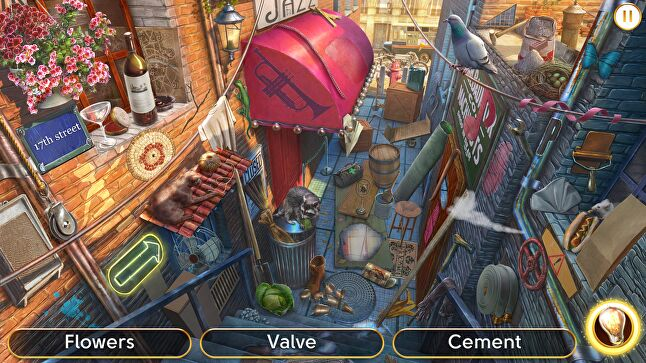 The narrative in hidden object games gives context to otherwise simple gameplay - 'You're not tapping objects, you're searching for clues,' says Wooga