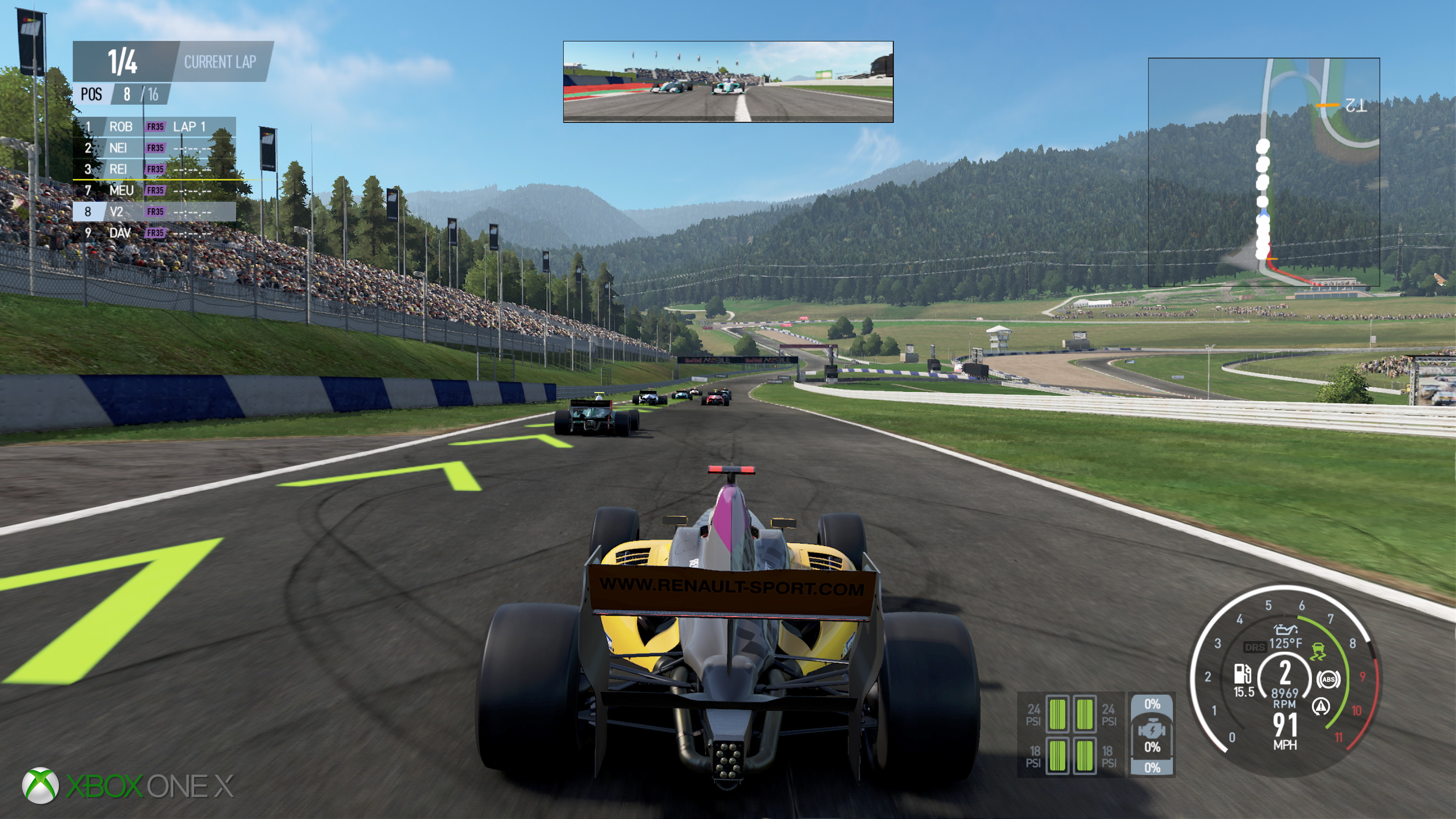 Project Cars 2\'s upgrades have a different focus on Xbox One X ...