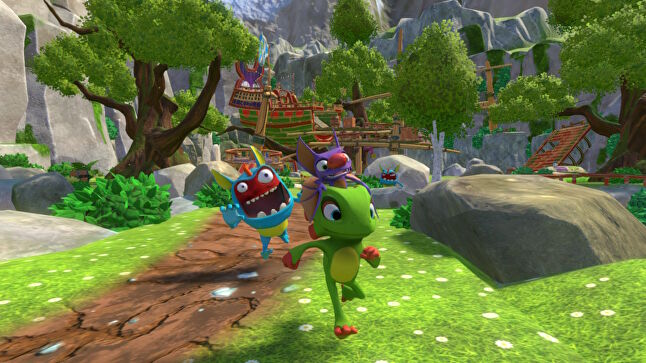 Yooka-Laylee was initially planned for Wii U