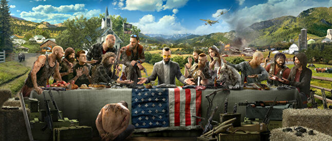 There can be no denying the inspirations for Far Cry 5's key art, and that's something that may offend some Christians around the world