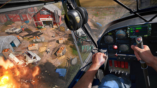As ambitious as Far Cry 5 might seem with its themes, it still has to offer enough mainstream action to attract millions of players