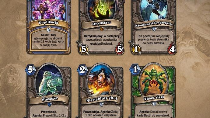 Hearthstone to get three more big expansions in 2018