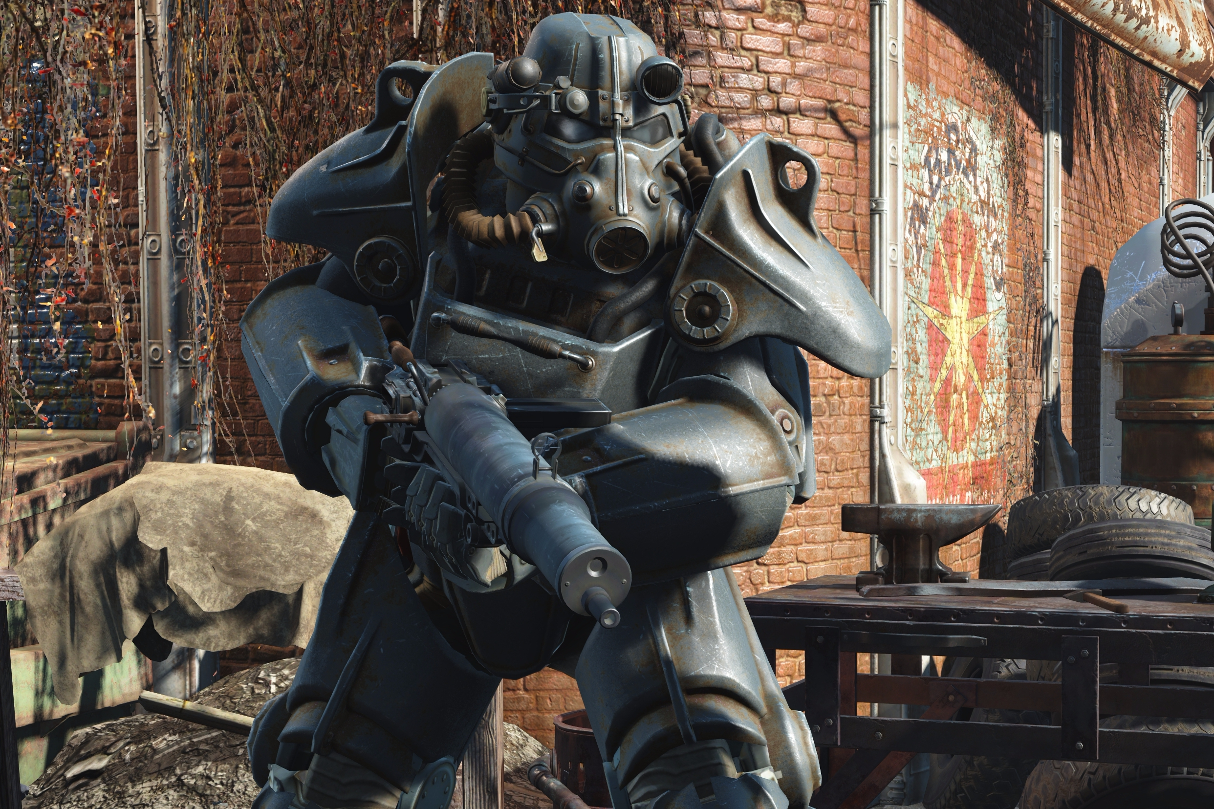 Fallout 4 on Xbox One X delivers a detail-rich 4K ...