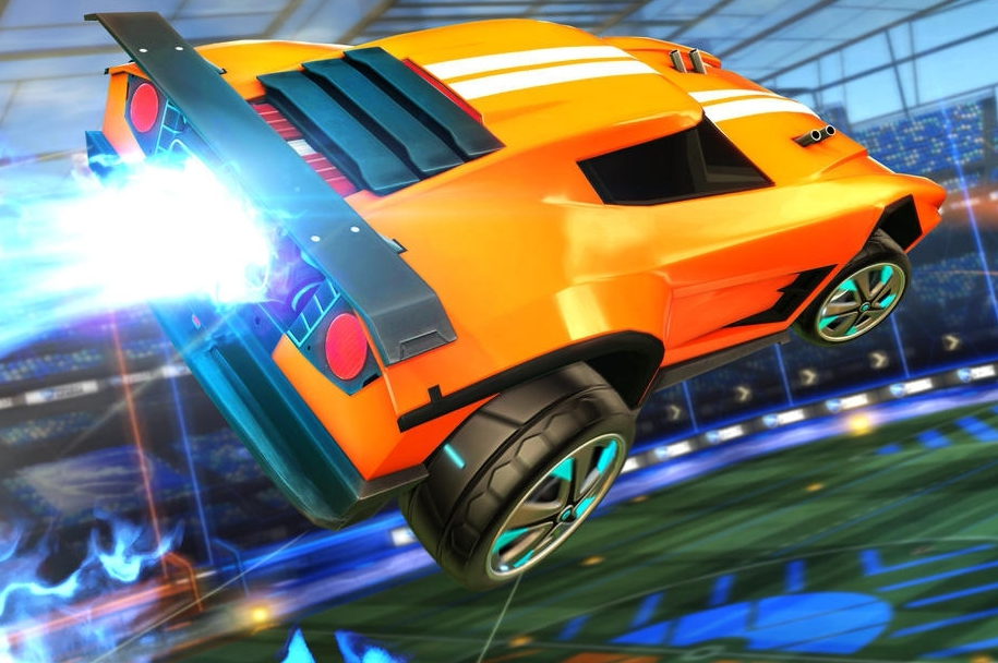 Rocket League On Switch Plays Beautifully In Mobile Mode