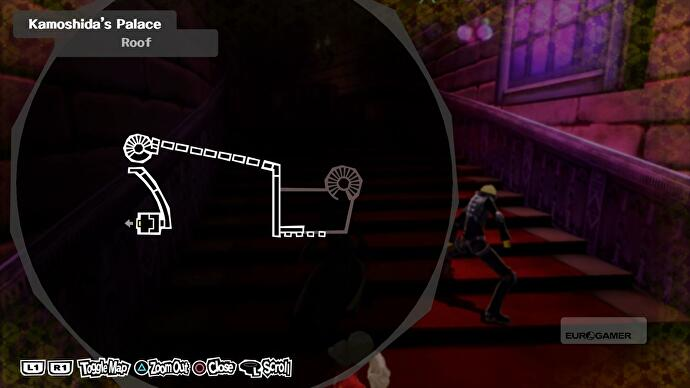 Persona 5 Kamoshida Palace Torn King Of Desire 3f Key