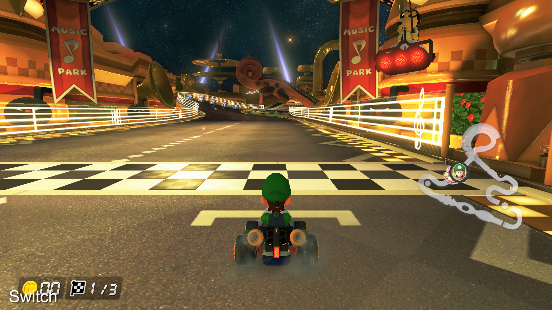 mario kart 8 deluxe a great console title is a handheld. Black Bedroom Furniture Sets. Home Design Ideas