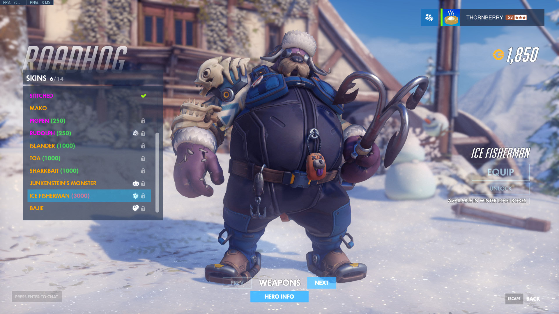 Overwatch Winter Wonderland 2017 Skins - All the Legendary skins in ...
