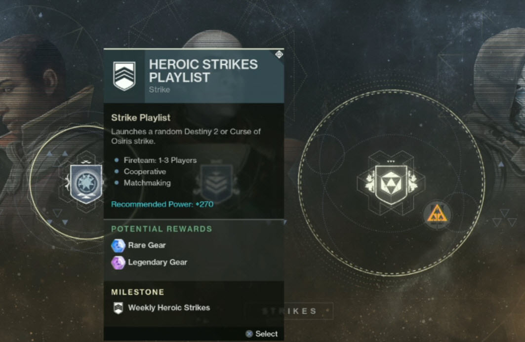 matchmaking for heroic strikes