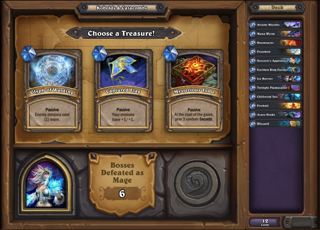 Hearthstone: Dungeon Run guide - Kobolds and Catacombs