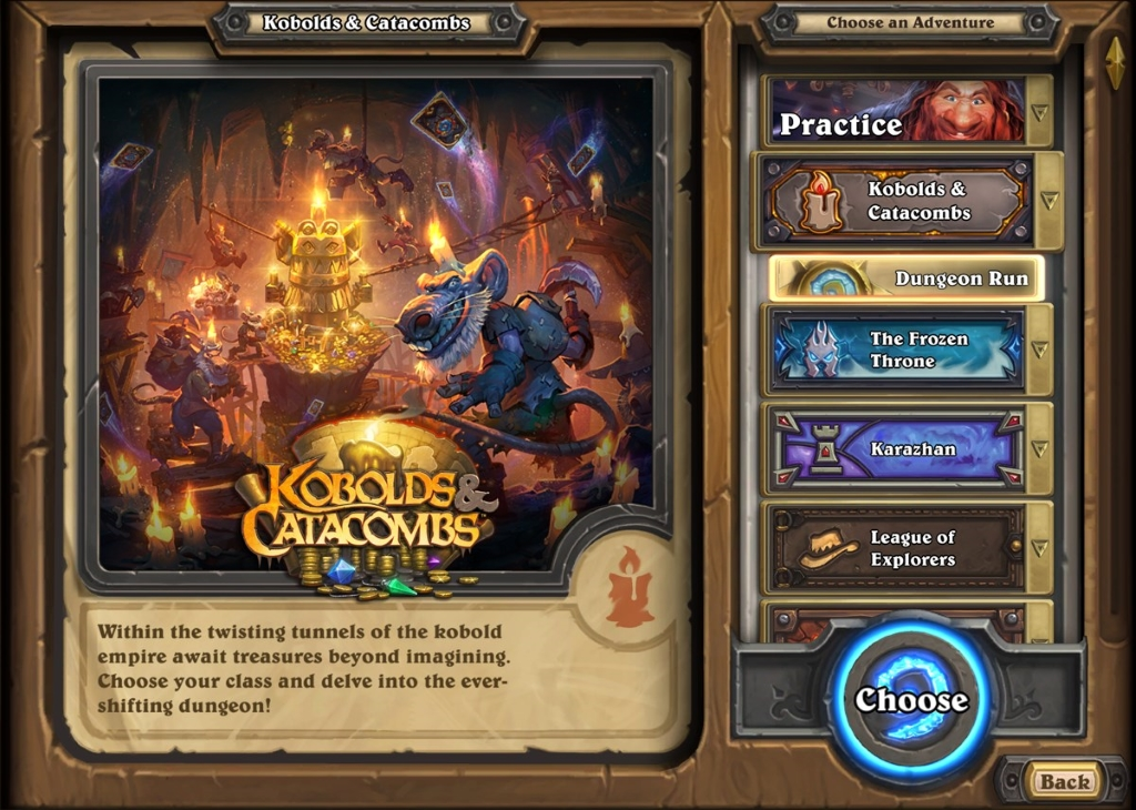 Hearthstone: Dungeon Run guide - Kobolds and Catacombs | Metabomb