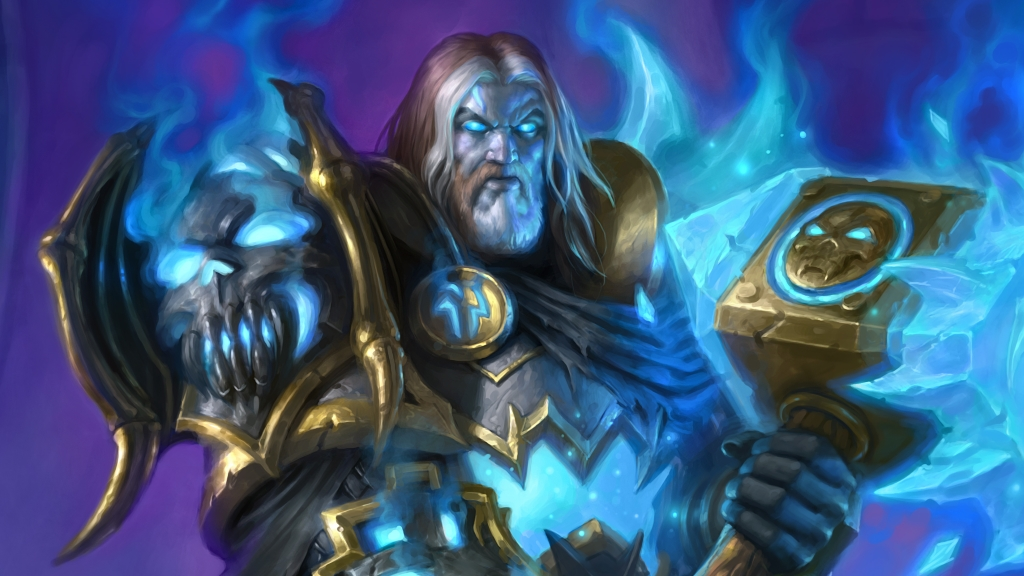 Image result for uther of the ebon blade