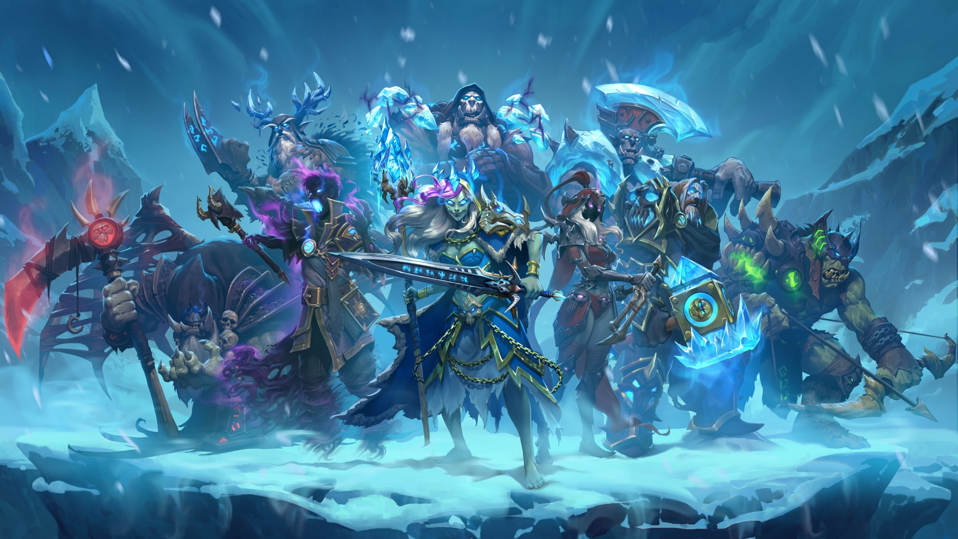 Frozen Throne Guide Decks Missions Cards And More Hearthstone