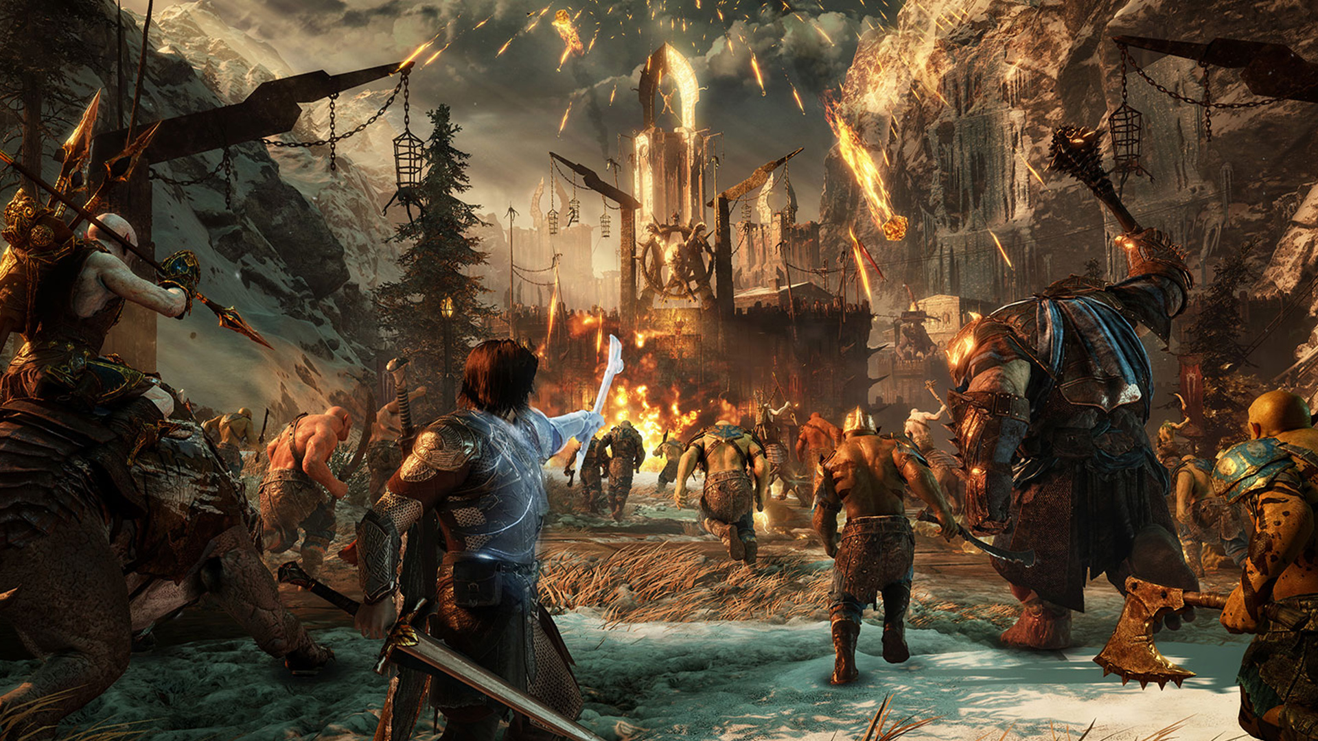 Shadow of War: PS4 Pro vs PS4/Xbox One Graphics Comparison + Frame ...