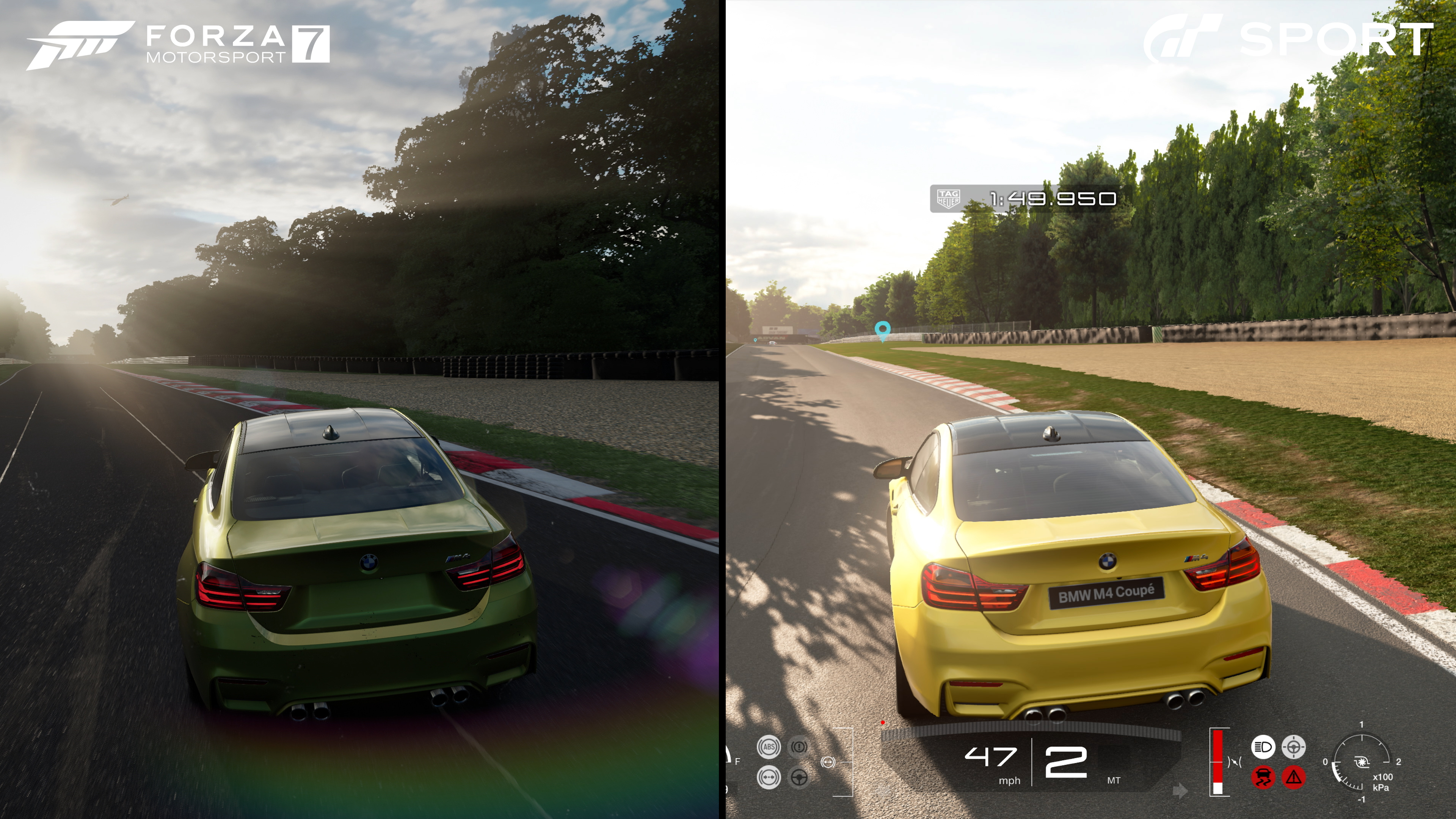 Tech Analysis Gran Turismo Sport Vs Forza Motorsport 7
