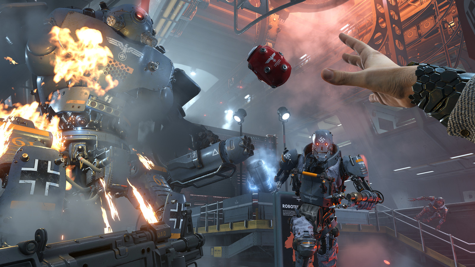 Wolfenstein 2 Xbox One X Ps4 Pro Pc Showdown Microsoft 360 Elite Dissected Layout Changes Revealed With Anything Up To A 225x Increase In Resolution Powers Past Its Equivalent And Compares Fairly Well Against