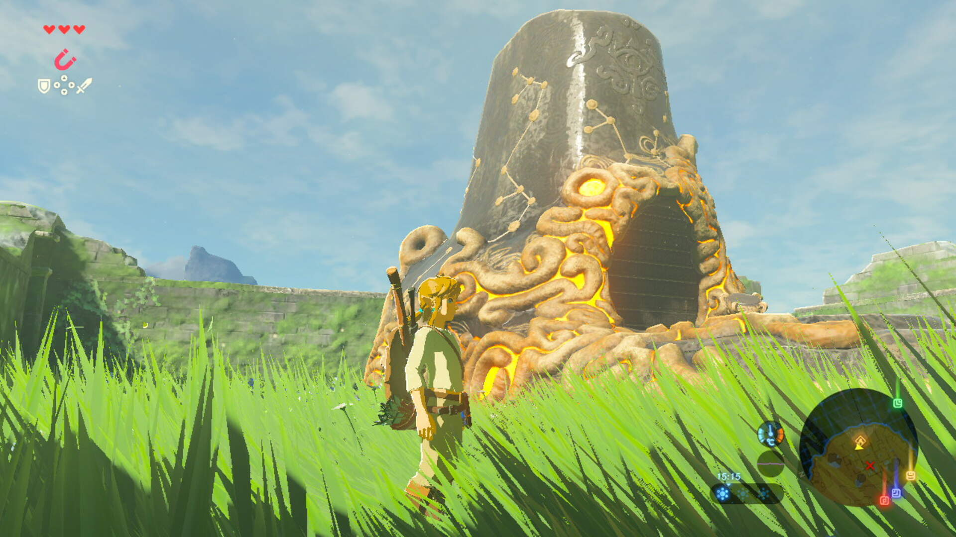 The Legend of Zelda: Breath of the Wild Has a Really Neat Ocarina of Time Easter Egg