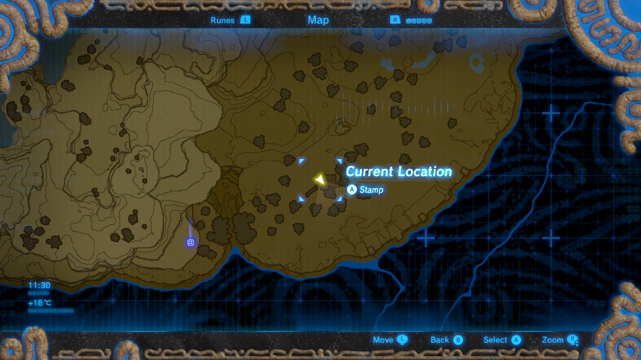 Breath Of The Wild How To Survive Cold Areas And Find The Warm Doublet Usgamer