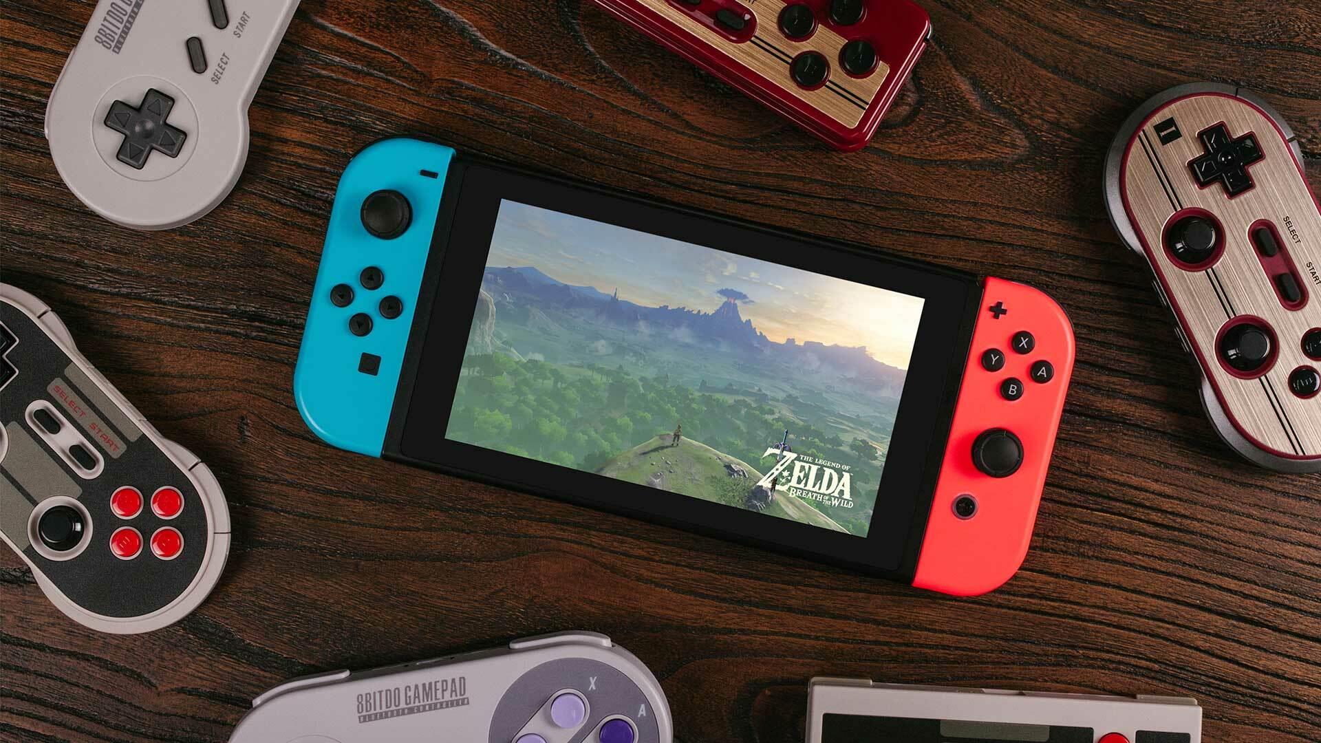 8Bitdo's SNES-Inspired Bluetooth Controller Designed for Switch Is up For Pre-Order