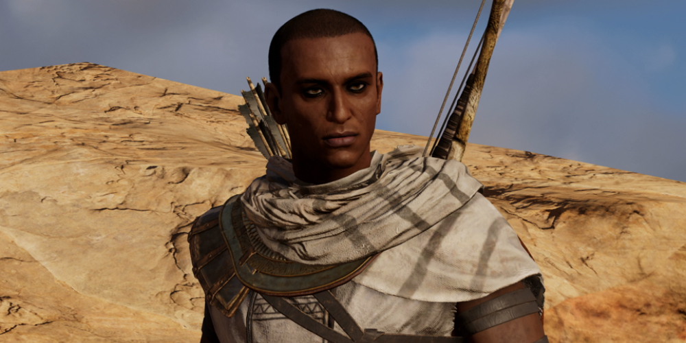 Assassin's Creed Origins PSA: You Can Change Bayek's Hairstyle | USgamer