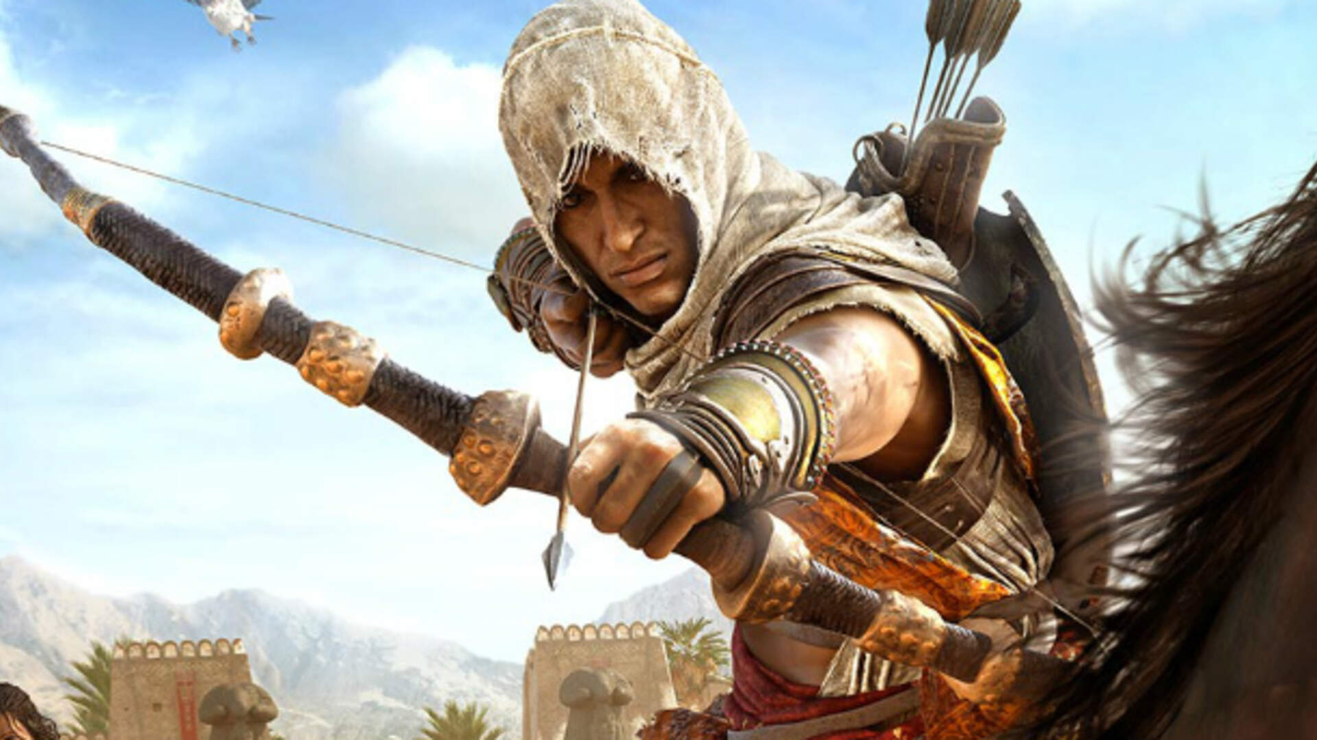 Assassin's Creed Origins' Update Lets You Ride In Final Fantasy Style