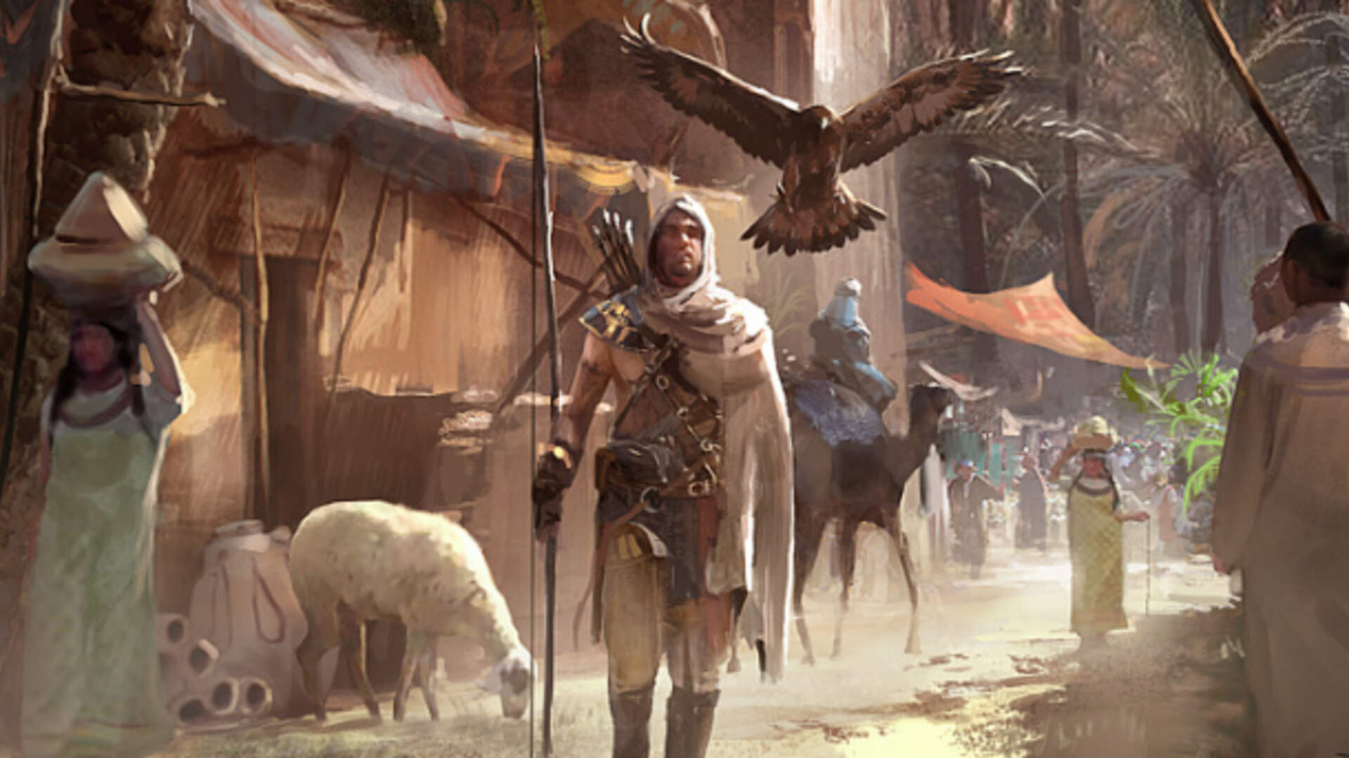 How Assassin S Creed Origins Connects To Established Lore Usgamer