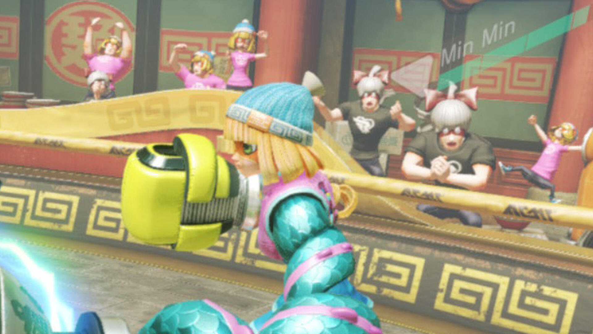The Crowds in Arms Endearingly Cosplay as the Fighters They Love Most