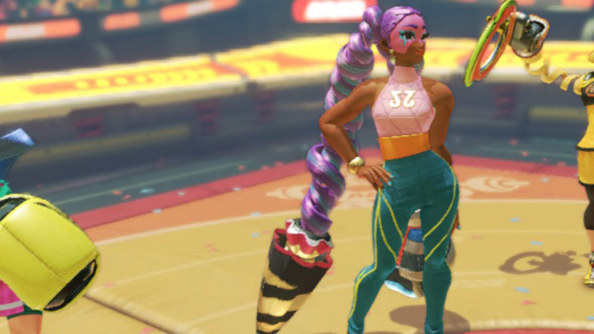 Arms is the Latest Conquest in Nintendo's Path to Make the Most Stylish Characters in Games