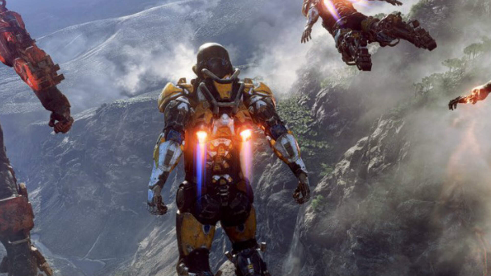 EA Gives the First Look at BioWare's Ambitious New IP, Anthem