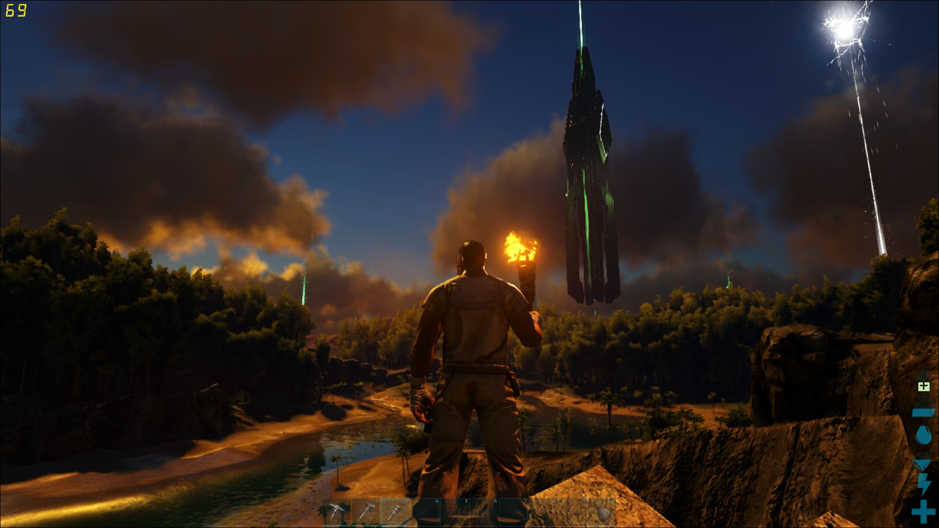 Ark: Survival Evolved Review: A Rough Rodeo As a Dino Rider   USgamer
