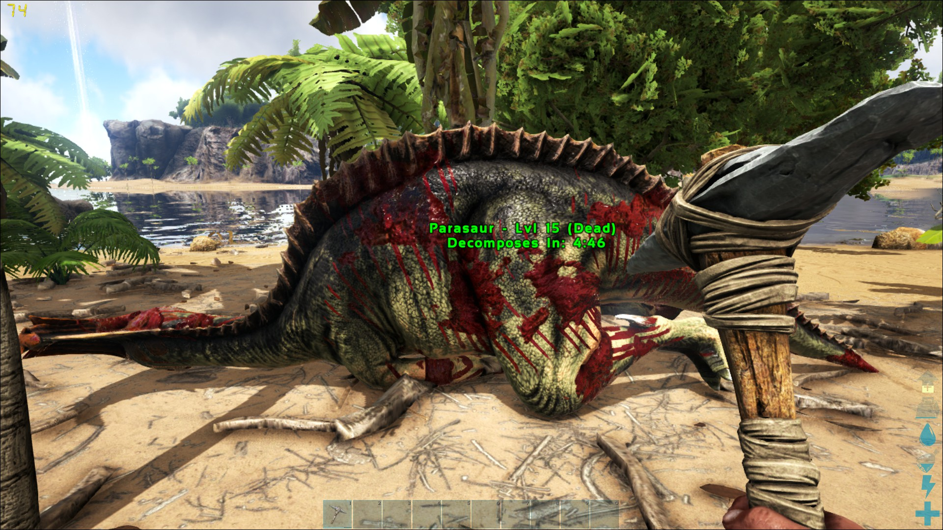 Ark Survival Evolved Review A Rough Rodeo As A Dino