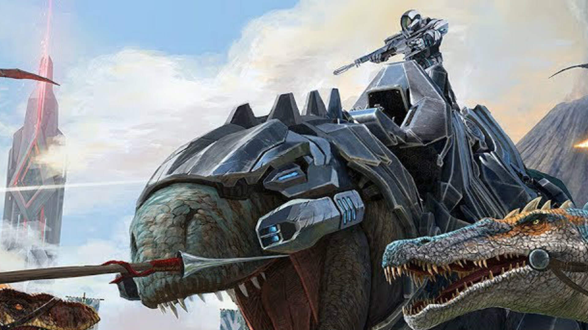 Ark: Survival Evolved Review: A Rough Rodeo As a Dino Rider